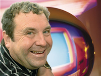 russell grant astrologer with background
